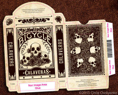 Death-Inspired Playing Cards - This Deck Has Been Inspired by Roots of the Day of the Dead