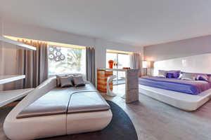 The Ushuaia Ibiza Beach Hotel has Artfully Eclectic Interiors