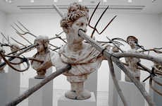 Impaled Classical Sculptures