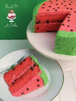 DIY Watermelon Cakes - This Watermelon Cake Looks and Tastes Like Watermelon