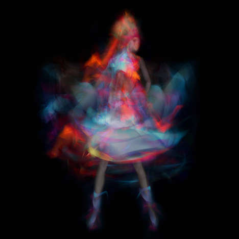 Ethereal Fairy Photography - The Nadia Wicker NUWA Image Series is Captured in Motion