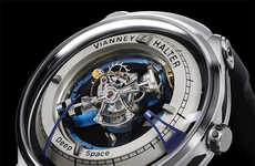 Universe-Inspired Watches - The 'Deep Space Tourbillon' Incorporates the Mechanics of the Universe