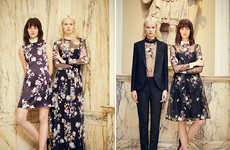 Sophisticated Resort Lookbooks - The Erdem Resort 2014 Collection Features Bold Floral Patterns