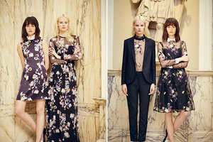 The Erdem Resort 2014 Collection Features Bold Floral Patterns