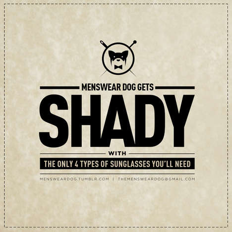 Menswear Dog Sunglasses