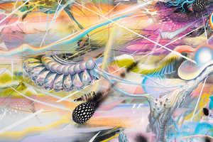 Mario Martinez Creates Dynamically Dimensional Paintings