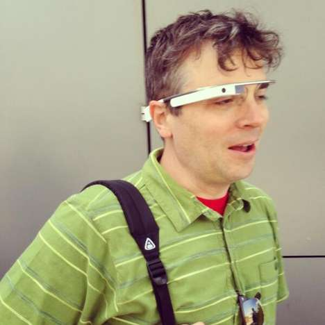 Men Wearing Google Glass