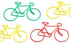 Cycling Stationery Holders - Riders Can Decorate Their Notebooks with Cute Bicycle Clips