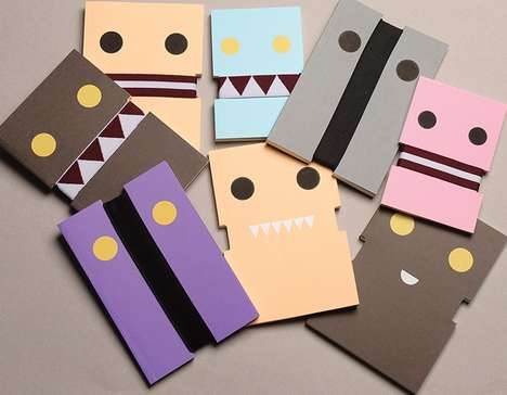 Munching Monster Notebooks - Ozan Akkoyun Designs Cleverly Adorable Critter Journals
