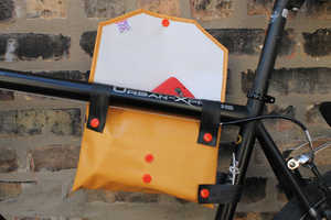 The Top Tube Bike Frame Bag is Convenient On-the-Go Storage