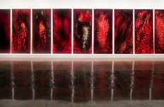 Blood-Infused Installations