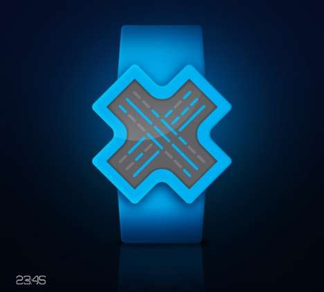 X-Shaped watch