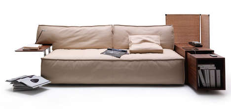 All-Encompassing Sofa Systems - The MyWorld by Philippe Starck is Made for the Tech Savvy