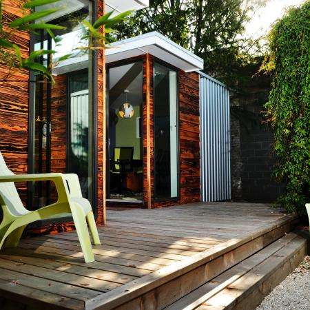 Personal Pod Studios - This Backyard Pod by Sett Studio Provides People with a Private Escape