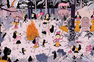 Illustrator Astrid Yskout Draws Wildly Narrative Jungle Scenes