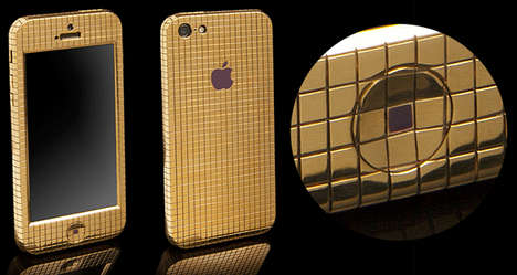 gold-plated iphone