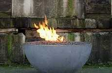 These Burning Bowls By Solus Decor Add Luxury to Your Yard