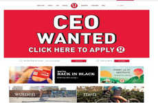 Yoga Master Web Hiring - The Lululemon CEO Campaign Goes Global via the Net