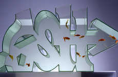 The Zeus Graffiti Fish Tank Gives Fish an Urban-Styled Playground