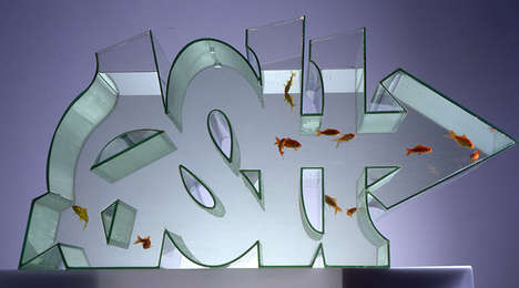 Graffiti Fish Tank