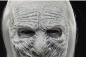 The White Walker Mask Lets Game of Thrones Fans Dress as Evil Zombies
