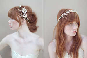 These Chic Floral Headbands Make Perfect Bridal Accessories