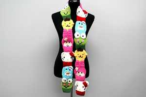 This Hello Kitty Scarf Includes All the Icon's Sanrio Friends