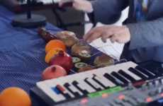 Music-Playing Fruit Campaigns