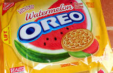 Fruity Special Edition Cookies - These Watermelon Oreos Aim to Become a New Summer Symbol
