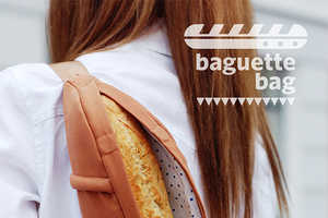 This Bread Bag by Cyan Makes Carrying Baguettes Stylish