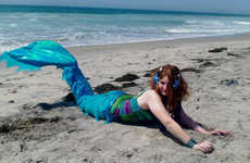 Majestic Mermaid Costumes - These Fabric Tail Mermaid Costumes Let You Channel Your Inner Mermaid