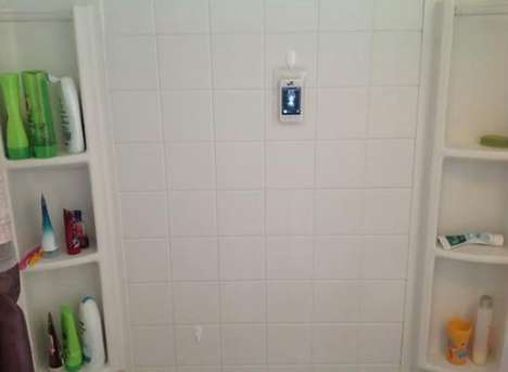 Phone in the Shower