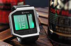 Drunkenness-Detecting Wristwatches - The Kisai Intoxicated Tells You the Time and Your BAC
