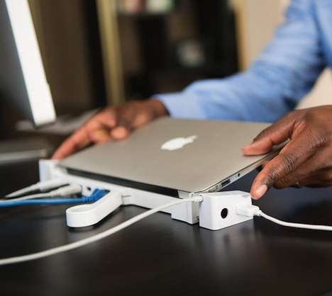 All-in-One Laptop Stations - The LandingZone PRO Turns a Portable Computer into a Desktop