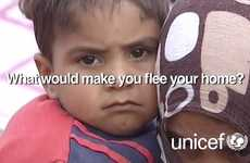 UNICEF's 'World Refugee Day 20 June' Campaign Gets Personal