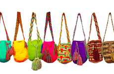 Multi-Colored Eco Sacs - The YU Handcraft 'Mochilas' Bags Features an Array of Beautiful Hues