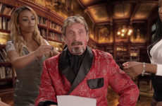 John McAfee Discusses Anti-Virus Removal in a Humorous Production