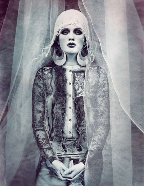Ghostly Fashion Shoots