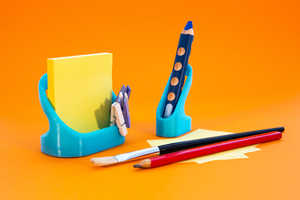 These 3D-Printed Items Keep Your Desk Stylishly Tidy