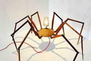 These Spider Lamps Offer Creepy Decor for the Quirky Home Owner