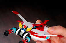 Action Figure USB Drives - This Action Figure USB Drive is Modeled After the Grendizer Robot