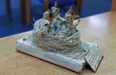 Mysterious Book Art