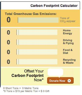 carbon footprint calculator