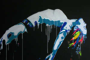The New Vexta Street Art is Fantastically Eerie and Vibrantly Fluid