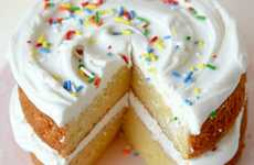 Corner Store Cake Recipes - This Vanilla Cake Recipe is Made with Layered Twinkies