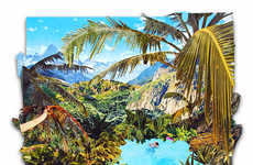Tropical Tourist Collages