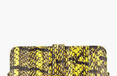 Couture Tablet Protectors - The Alexander McQueen Meshed Snake iPad Case is Opulent in Design