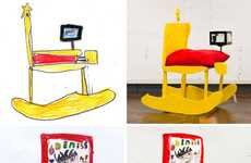 Kid-Drawn Furniture Designs - Children's Furniture by Joshua Lake and Jack Beveridge is Imaginative