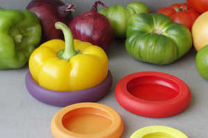 Food Huggers are Simply Adorable Kitchen Tools for Preserving Food
