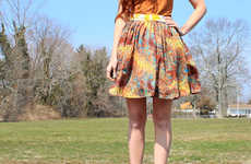 11 Flirty DIY Summer Skirts